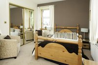Garden Room with double bed & ensuite shower room, in main farmhouse